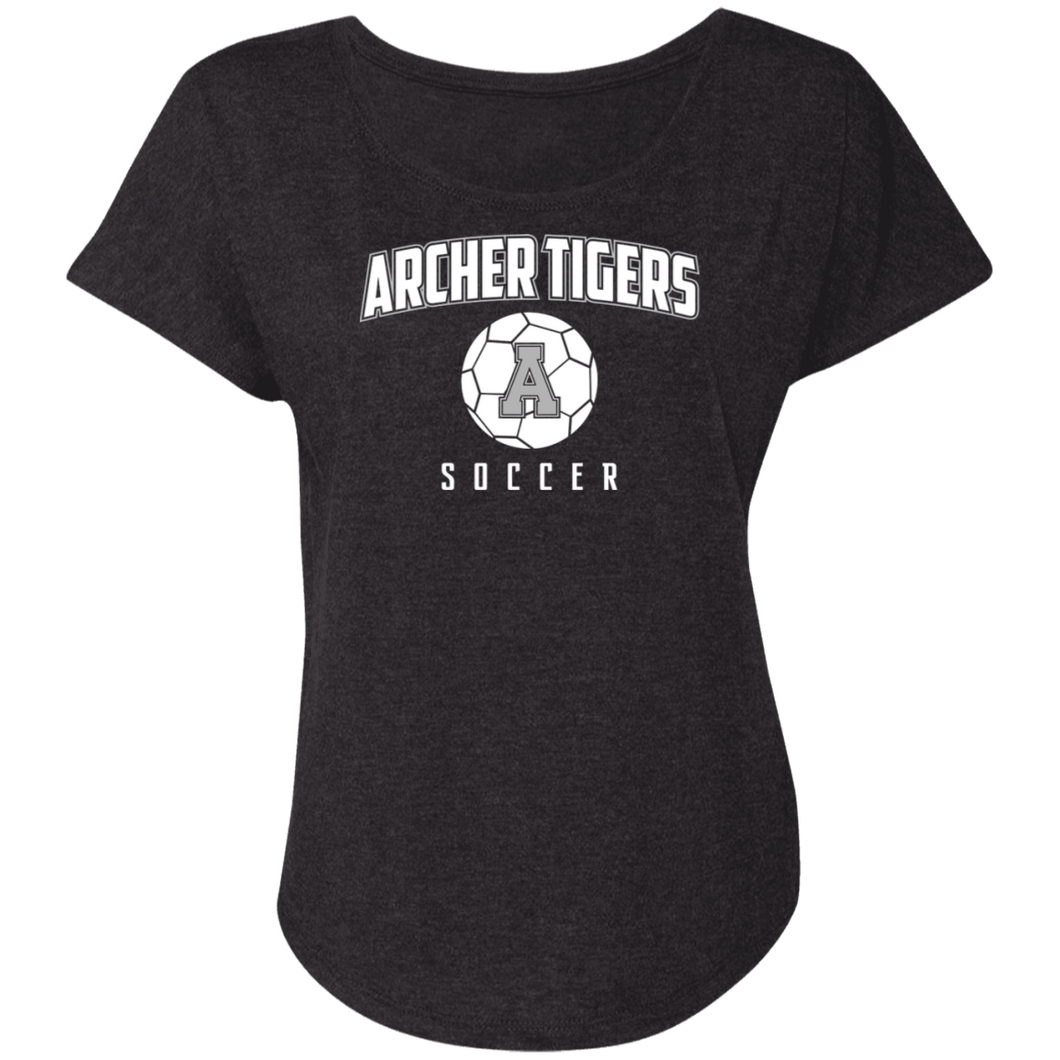 Archer Soccer Ball  Ladies' Triblend Dolman Sleeve