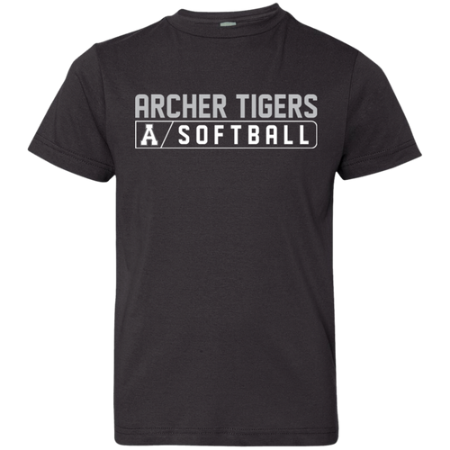 Archer Softball Bar Logo Youth Jersey T-Shirt