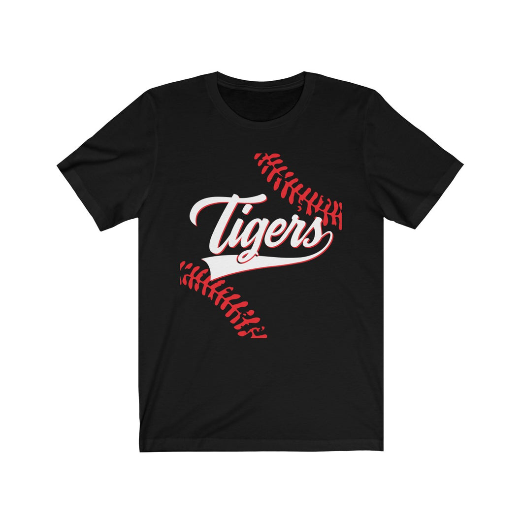 Tiger Baseball - Jersey Short Sleeve Tee - Tiger Gear