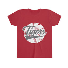Load image into Gallery viewer, Classic Tiger Baseball - Youth Short Sleeve Tee