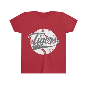 Classic Tiger Baseball - Youth Short Sleeve Tee