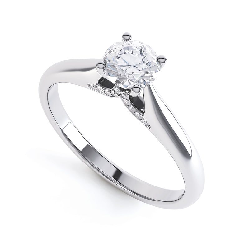 4 Claw Diamond Solitaire - JQD1001