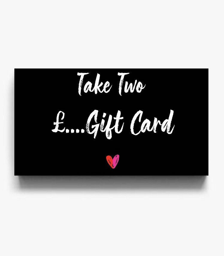 purchase a Take Two gift card here to buy new and preloved clothing instore or online perfect gift for a loved one