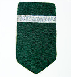 District Director epaulettes: Bottle green