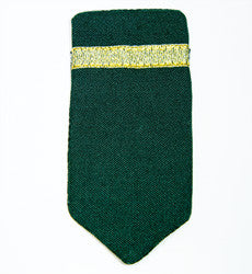 Federation President Epaulettes: Bottle Green