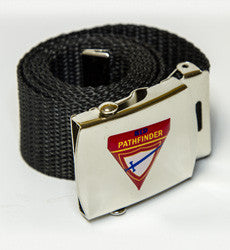Pathfinder Buckle with logo
