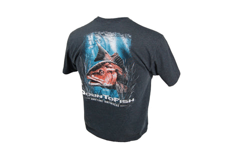 Red Drum Charcoal Tee