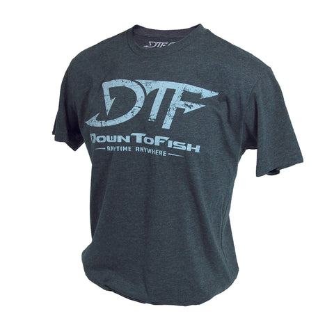 DTF Vintage Tee Charcoal