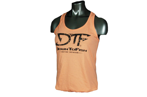 Women's DTF Tank Top Coral