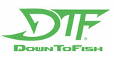DTF Down To Fish Decal 24""