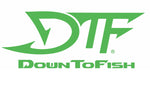 DTF Down To Fish Decal 32""