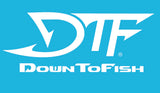 DTF Down To Fish Decal 18""