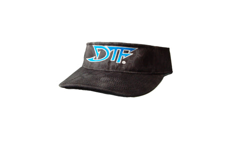 Kryptek Black Blue DTF Visor