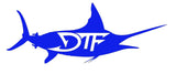 "12"" Marlin DTF Decal"