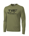 Vintage Performance Polyester L.S OD Green