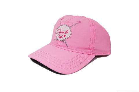 Ladies Performance Pink Hat