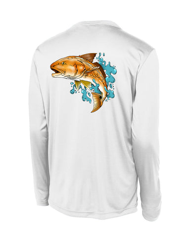 Redfish Performance Polyester L.S