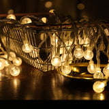 Crystal bubble LED string lights - Socialness