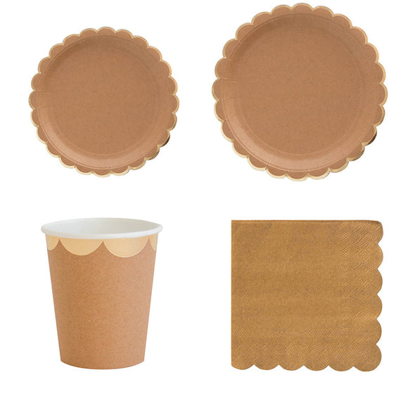 Eco friendly party set - serves 8 - Socialness