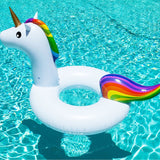 Giant inflatable unicorn pool float - Socialness