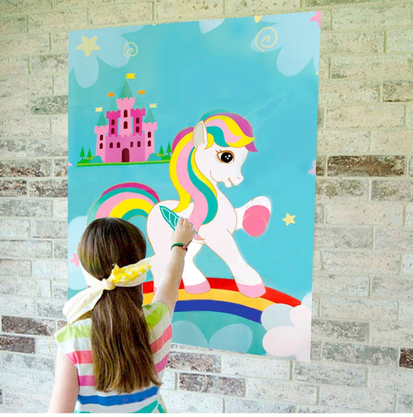 Pin the horn on the unicorn - Socialness