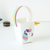 Unicorn paper party gift bags - 10 pieces - Socialness