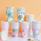 Unicorn party cups - 10 pieces - Socialness
