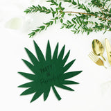 Palm leaf paradise place mats - Socialness