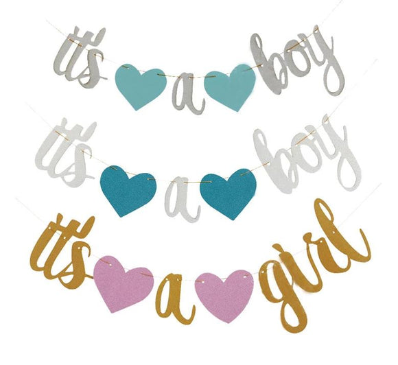 It's a boy/ girl banners - Socialness