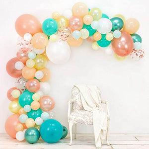Pina Colada balloon garland kit - 98 pieces