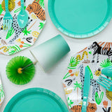 Jungle animal party set - serves 8 - Socialness