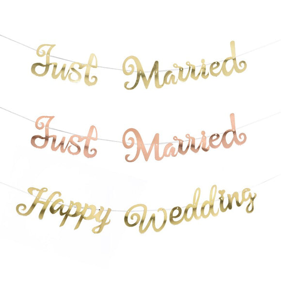 Just married banner - Socialness