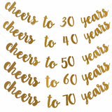 Cheers to the years celebration banner - Socialness