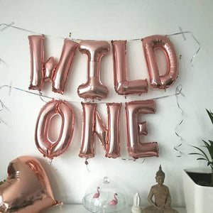 Wild One foil balloon set - Socialness