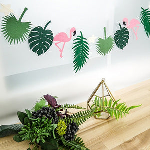 Tropical summer bunting - Socialness