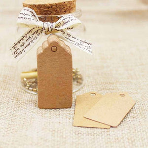 Recycled paper gift tags - 100 pieces - Socialness