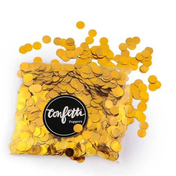 Confetti sprinkles mix - gold - Socialness