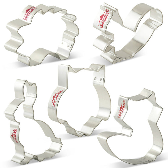 Woodland animal cookie cutter set - 6 pieces - Socialness
