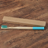 Eco friendly bamboo adults toothbrush - biodegradable, PLASTIC FREE! - Socialness