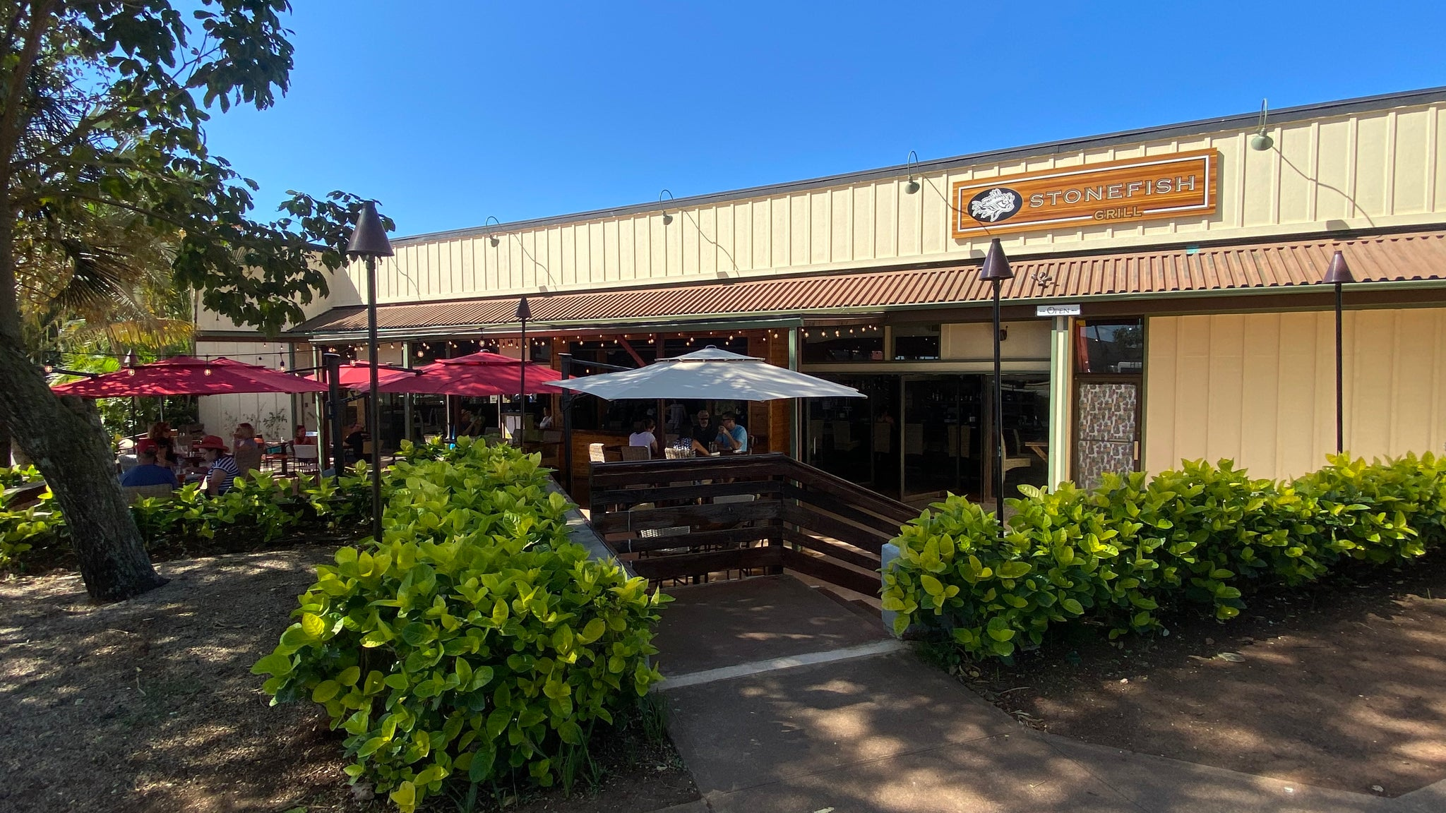 Welcoming Stonefish Grill - A New Restaurant at Haleiwa Town Center