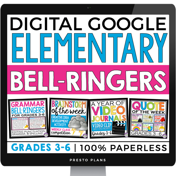 DIGITAL ELEMENTARY BELL RINGERS GOOGLE | DISTANCE LEARNING