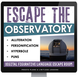 DIGITAL FIGURATIVE LANGUAGE ESCAPE ROOM GOOGLE | DISTANCE LEARNING (OBSERVATORY)