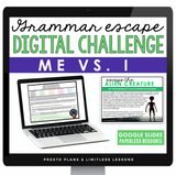 USING ME AND I GRAMMAR ACTIVITY DIGITAL GOOGLE ESCAPE CHALLENGE | DISTANCE LEARNING