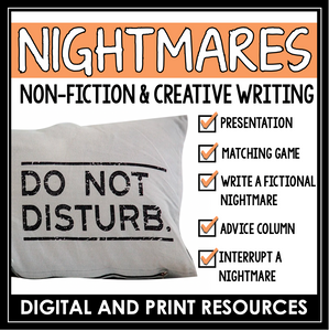 NIGHTMARE NON-FICTION CREATIVE WRITING | DIGITAL AND PRINT