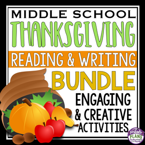 THANKSGIVING READING AND WRITING BUNDLE
