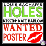 HOLES WANTED POSTER ASSIGNMENT