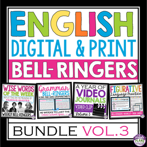 ENGLISH BELL RINGERS DIGITAL / PRINT PAPERLESS & PRINT BUNDLE (VOL 3)