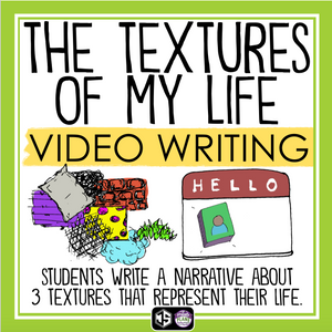MY LIFE IN TEXTURES - BACK TO SCHOOL VIDEO CREATIVE WRITING ASSIGNMENT