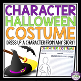 HALLOWEEN CHARACTER ASSIGNMENT: PUT A CHARACTER IN COSTUME
