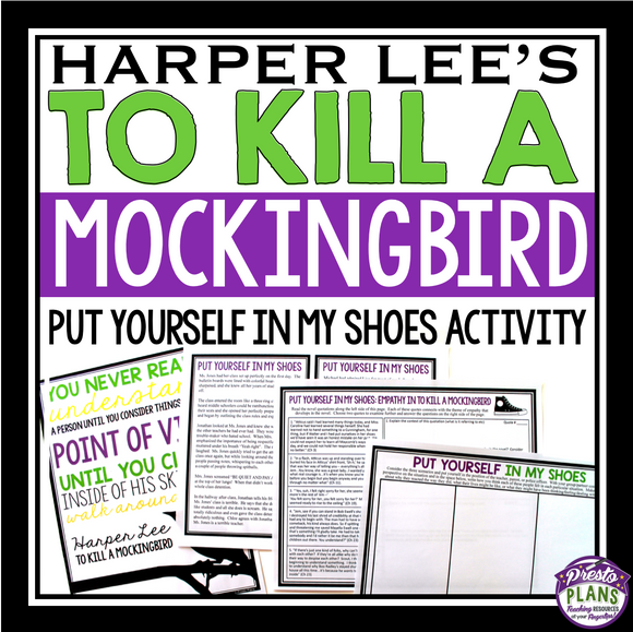 TO KILL A MOCKINGBIRD ACTIVITY: EMPATHY